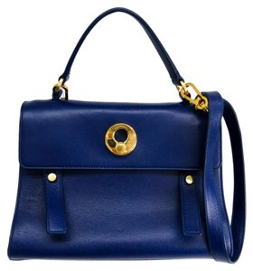 Saint Laurent Satchel in Blue