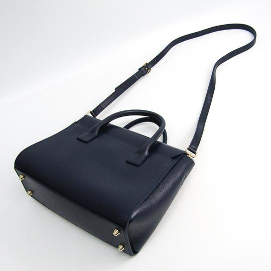 Furla Satchel in Navy Image 1