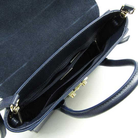 Furla Satchel in Navy Image 2