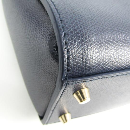 Furla Satchel in Navy Image 3