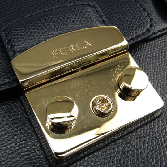 Furla Satchel in Navy Image 5