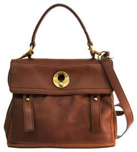 Yves Saint Laurent Satchel in Brown
