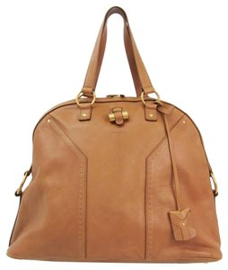 Yves Saint Laurent Satchel in Light brown