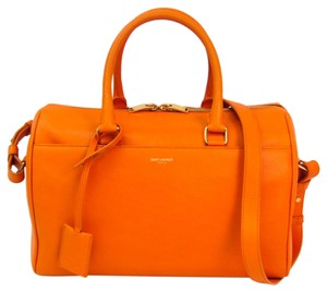 Saint Laurent Satchel in Orange