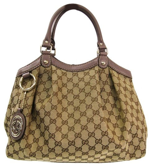 Preload https://img-static.tradesy.com/item/25873663/gucci-sukey-211944-handbag-beige-canvas-satchel-0-1-540-540.jpg