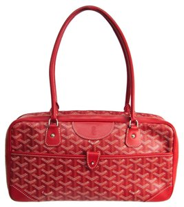 Goyard Satchel in Red