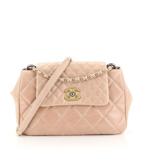 Chanel Accordion Flap Calfskin Shoulder Bag
