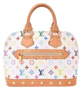 Louis Vuitton Satchel in Multi-color / White - item med img