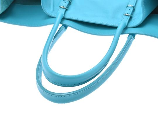 Balenciaga Satchel in Blue Image 2