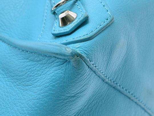 Balenciaga Satchel in Blue Image 5