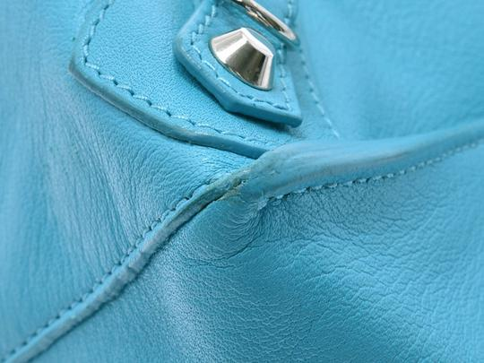 Balenciaga Satchel in Blue Image 6