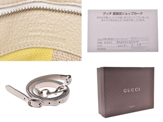 Gucci Satchel in Black / White Image 8