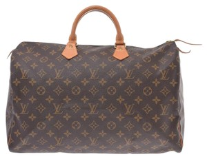 Louis Vuitton Satchel in Brown / Monogram / Monogram