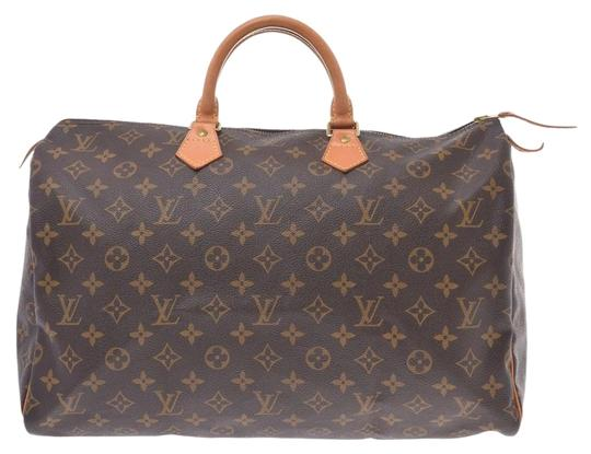 Preload https://img-static.tradesy.com/item/25874358/louis-vuitton-speedy-m41522-men-s-ladies-handbag-brown-monogram-monogram-satchel-0-1-540-540.jpg
