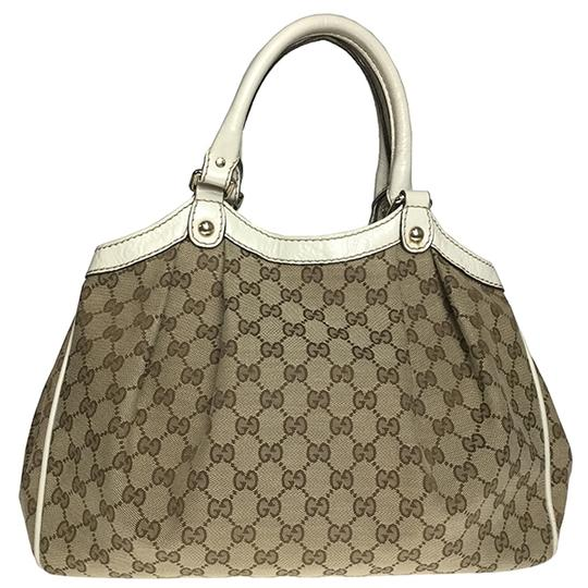Gucci Satchel in Beige Image 1
