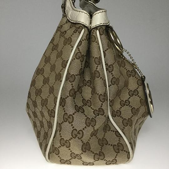 Gucci Satchel in Beige Image 2
