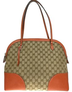 Gucci Satchel in Beige / Orange