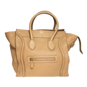 Céline Satchel in Camel