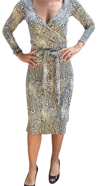 Item - Black and White No Style Number Work/Office Dress Size 8 (M)