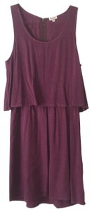 Splendid short dress Purple on Tradesy