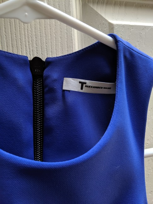 T by Alexander Wang Date Bodycon Mini Stretchy Dress Image 3