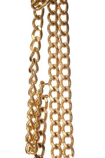 Chanel CHANEL Gold-Tone Chain Link Belt Image 2