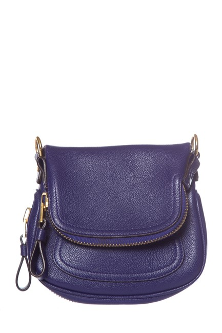 Item - Mini Jennifer Purple Leather Shoulder Bag