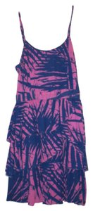 Roxy short dress Blue/Pink on Tradesy