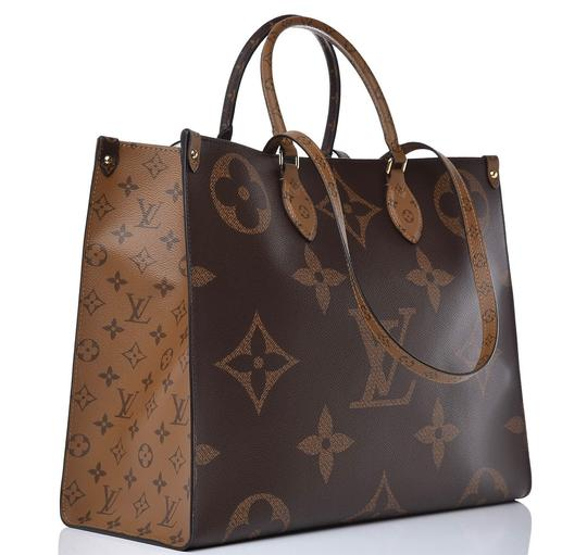 Louis Vuitton Giant Monogram Tote in Brown/Tan Image 1