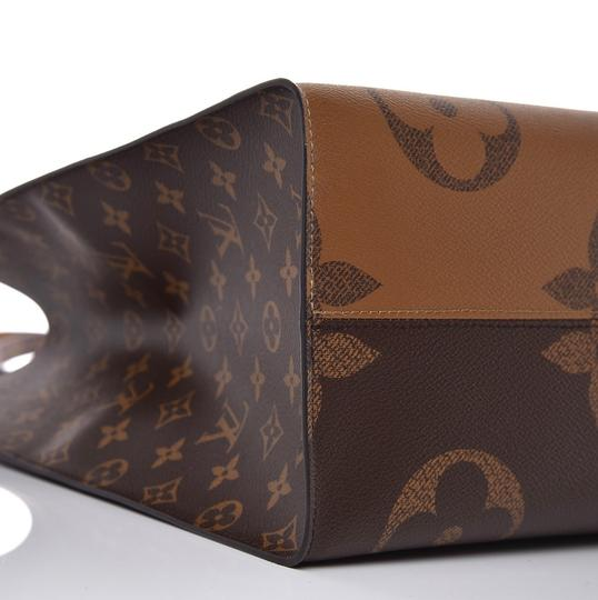 Louis Vuitton Giant Monogram Tote in Brown/Tan Image 4