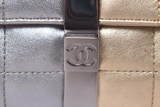 Chanel Gold & Silver Clutch Image 10