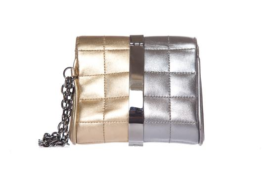 Chanel Gold & Silver Clutch Image 3