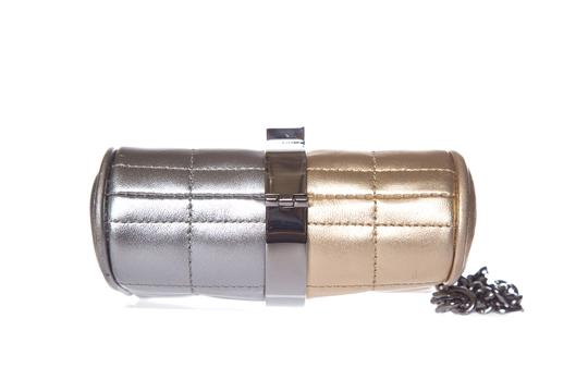 Chanel Gold & Silver Clutch Image 6