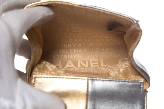 Chanel Gold & Silver Clutch Image 7