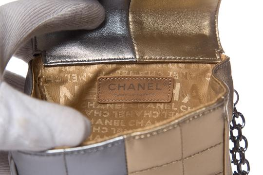 Chanel Gold & Silver Clutch Image 8