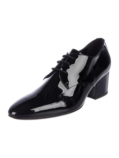 Burberry London Black Patent Leather Formal Image 1