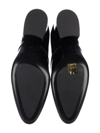 Burberry London Black Patent Leather Formal Image 4