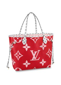Louis Vuitton Tote in pink, red, orange