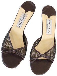Jimmy Choo Brown Sandals