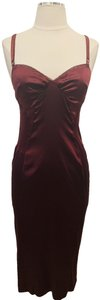 Dolce&Gabbana Bodycon Chic Silk Musthave Classic Dress