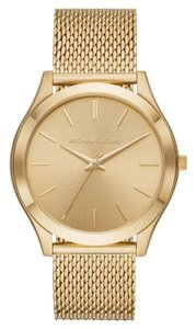 Michael Kors NEW Michael Kors Slim Runway Gold-Tone Watch MK8625