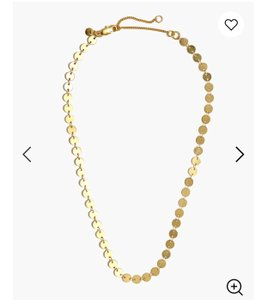 Madewell madewell Disc chain necklace