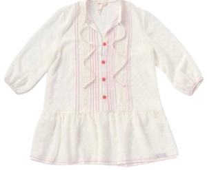 Matilda Jane Button Down Shirt Ivory