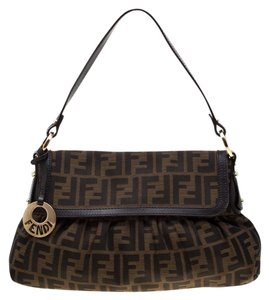 Fendi Canvas Shoulder Bag