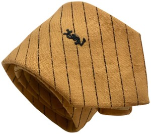 Saint Laurent Yves Saint Laurent Linen Tie - 1960's