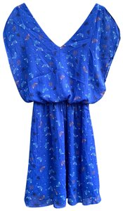 Candie's short dress blue on Tradesy