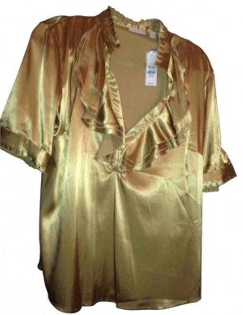 Preload https://img-static.tradesy.com/item/25876/new-york-and-company-gold-with-ruffles-blouse-size-16-xl-plus-0x-0-0-650-650.jpg