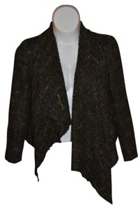 Debbie Shuchat Wool Jacket Dark Green/Multi Blazer