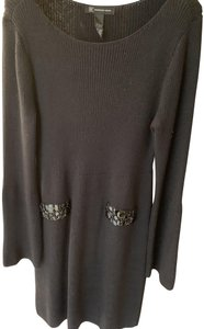 INC International Concepts After Five Special Occasion Beaded Knit Dress