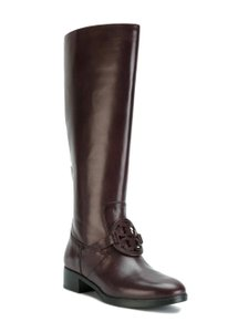 Tory Burch Burnt Chocolate Boots